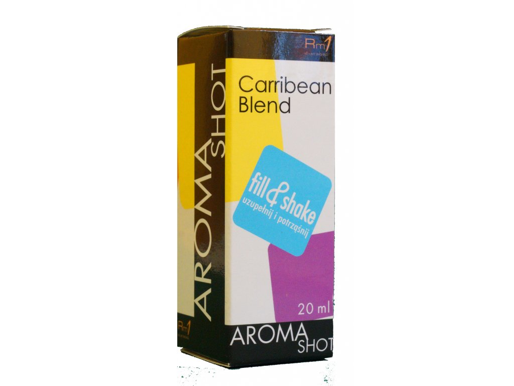 Aroma SHOT Rm1 CARRIBEAN BLEND 20 ml, 0 mg