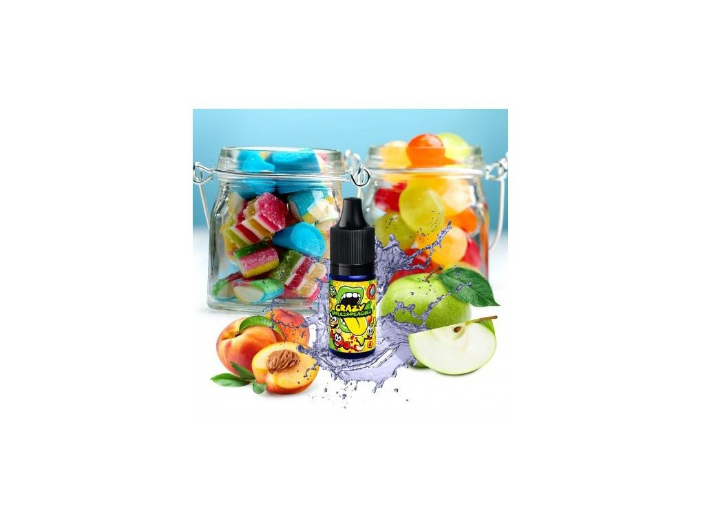 Big Mouth CRAZY APPLES & PEACHES 10 ml