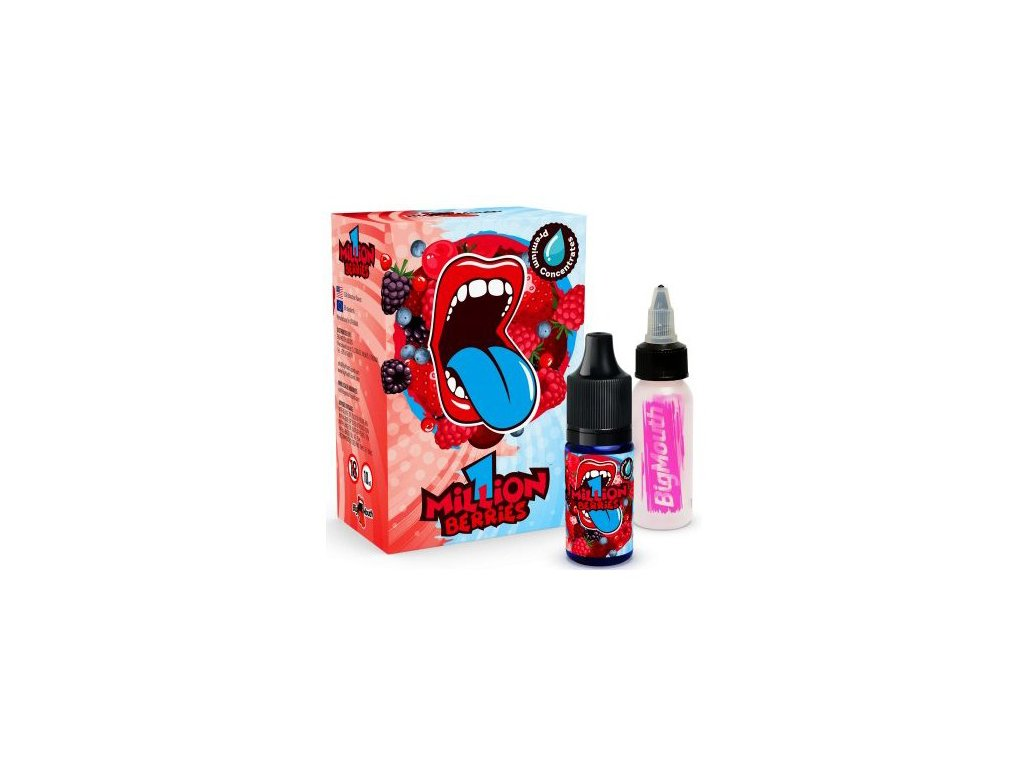 Big Mouth ONE MILLION BERRIES 1,5 ml TESTER