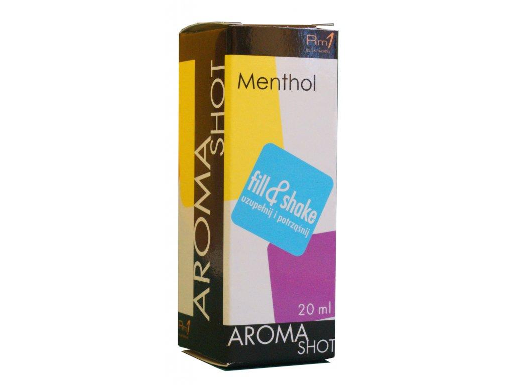 Aroma SHOT Rm1 MENTHOL 20 ml, 0 mg