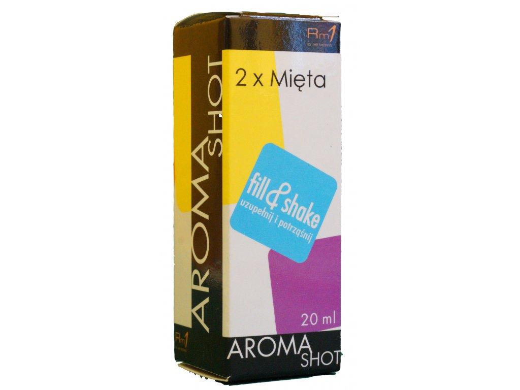 Aroma SHOT Rm1 DVOJITÁ MÁTA 20 ml, 0 mg