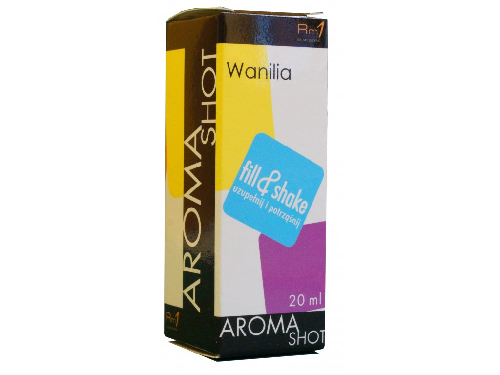 Aroma SHOT Rm1 VANILKA 20 ml, 0 mg