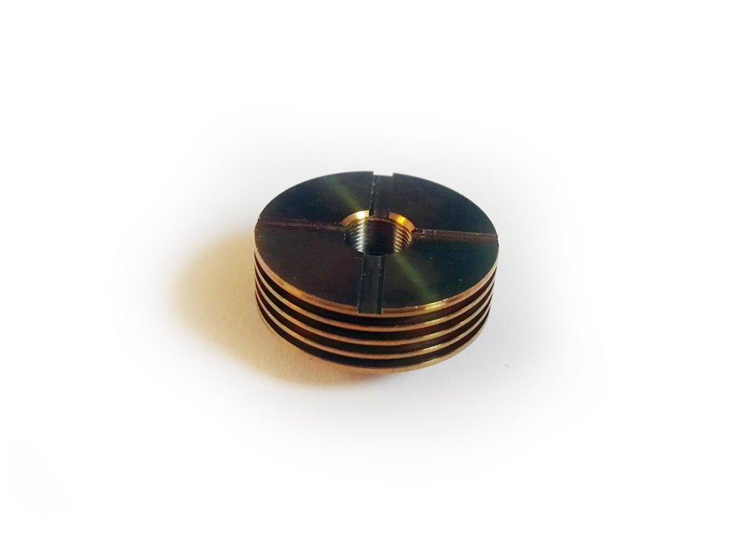 heatsink 24mm zlaty 01