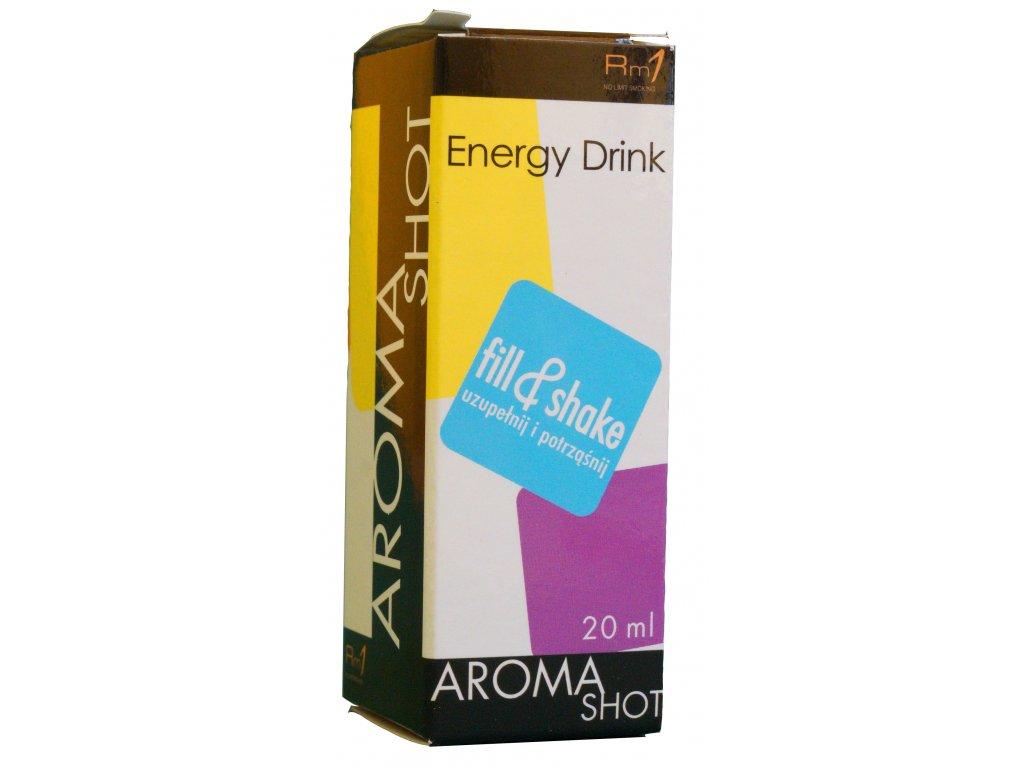 Aroma SHOT Rm1 ENERGY DRINK 20 ml, 0 mg