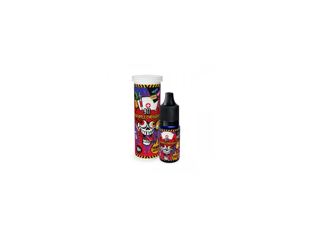 concentrate 911 pineapple emergency chill pill 10ml