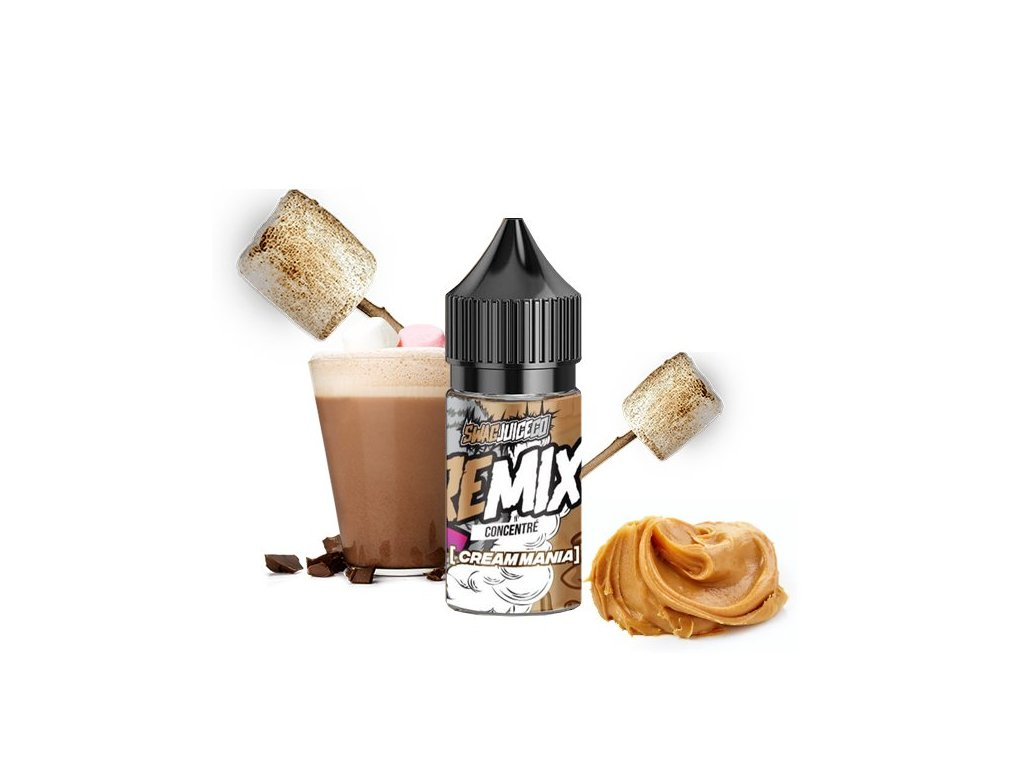 concentre cream mania 30ml taste junky series swag juice remix