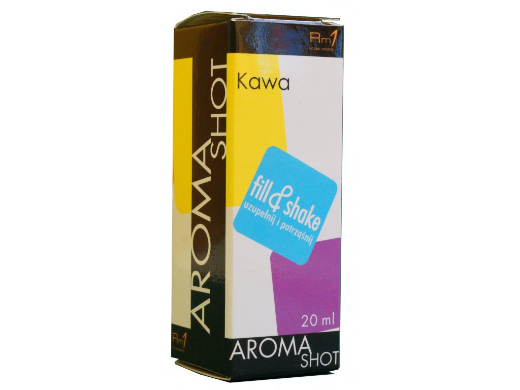 Aroma SHOT Rm1 KÁVA 20 ml, 0 mg