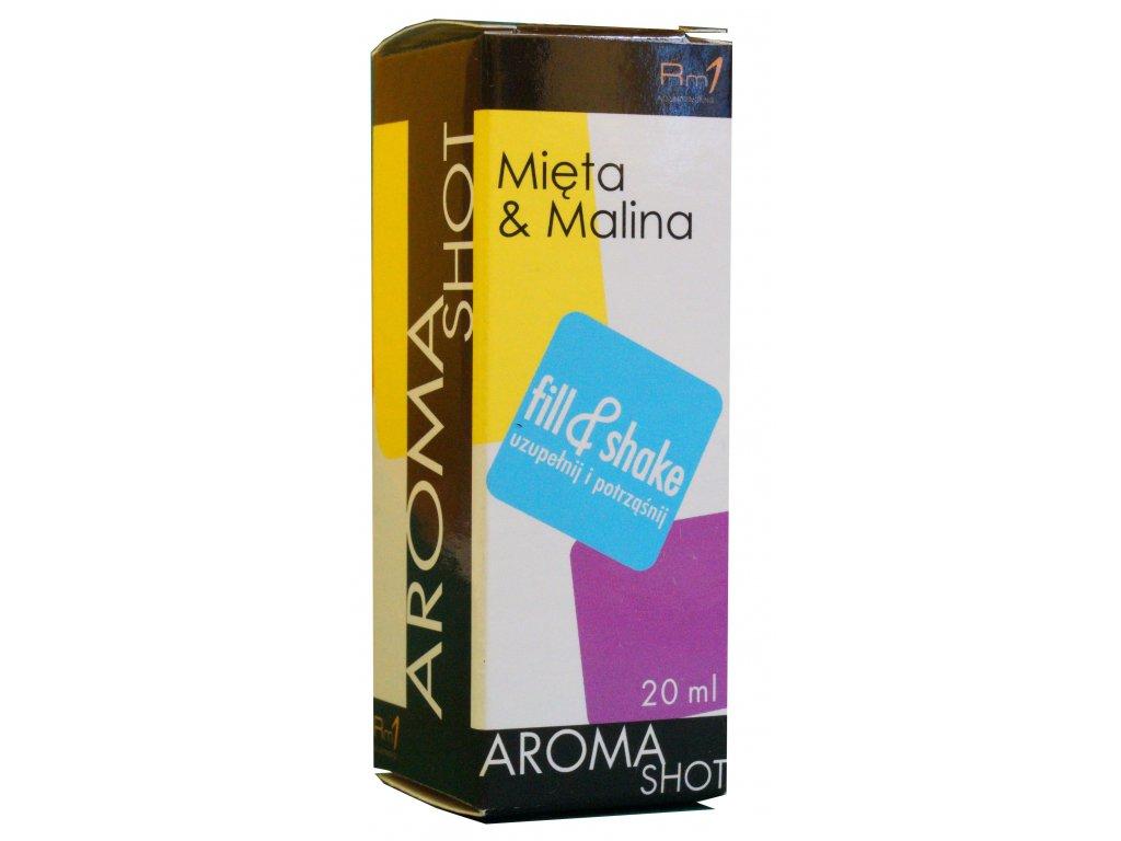 Aroma SHOT Rm1 MALINA & MÁTA 20 ml, 0 mg