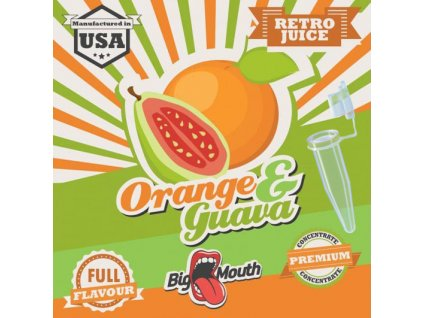 Big Mouth Retro ORANGE GUAVA TESTER