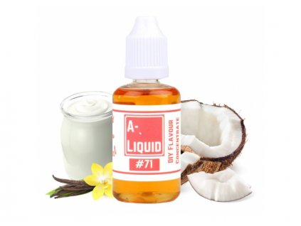 A Liquid COCONUT & VANILLA YOGURT