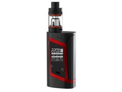 Smok ALIEN 220 W & TFV8 BABY 3 ml Černá Červená