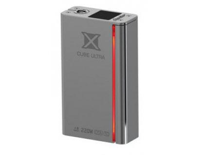 Smok X CUBE ULTRA 220 W MÓD Stříbrná