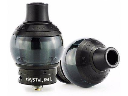Fumytech CRYSTAL BALL RDTA 4 ml, Černá