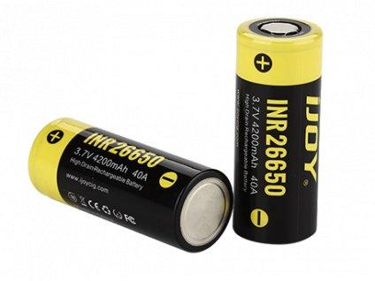IJOY Baterie INR 26650 40 A 4200 mAh 3,7 V