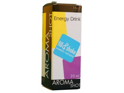 Aroma SHOT Rm1 ENERGY DRINK 20 ml, 0 mg