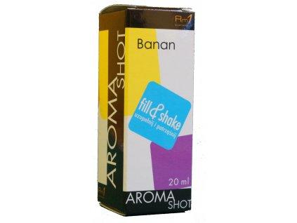 Aroma SHOT Rm1 BANÁN 20 ml, 0 mg