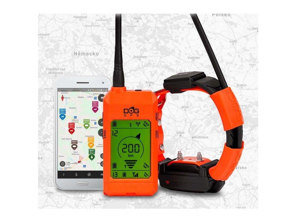 Satelitný GPS lokátor Dogtrace DOG GPS X30T - s výcvikovým modulom