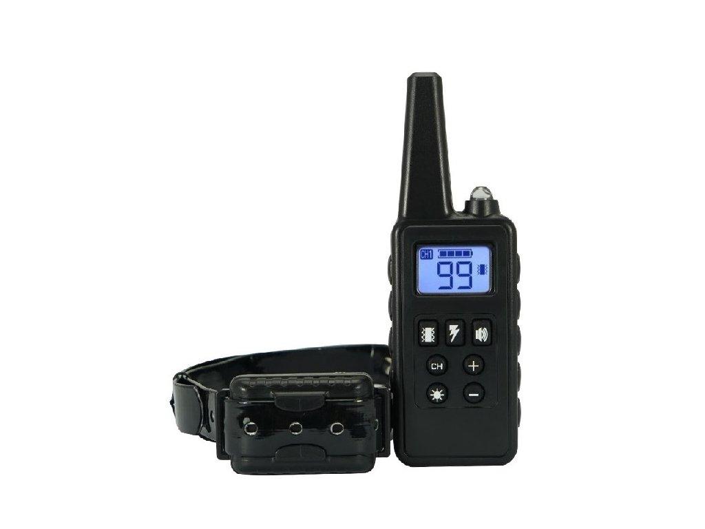 elektronický výcvikový obojek PatPet 776 black