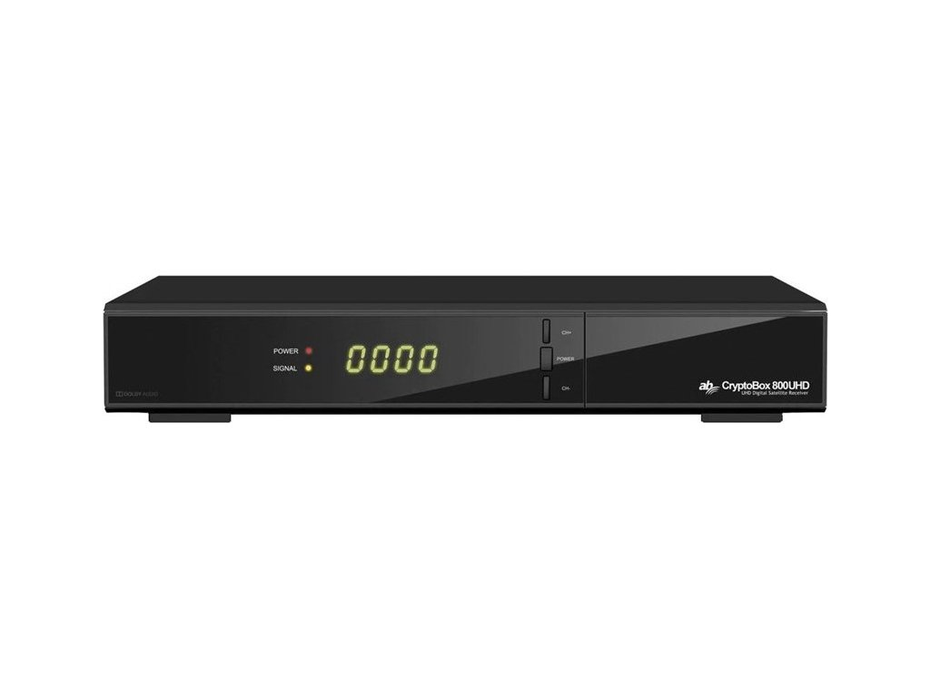Satelitní přijímač AB CryptoBox 800UHD