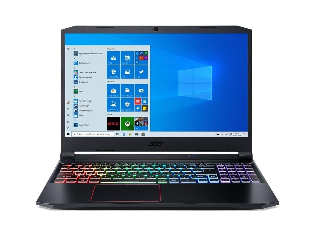 "Ntb Acer Nitro 5 (AN515-55-540U) i5-10300H, 16GB, 1024 GB, 15.6"", Full HD, bez mechaniky, nVidia GeForce RTX 2060, 6 GB, BT, CAM, W10 Home  - černý"