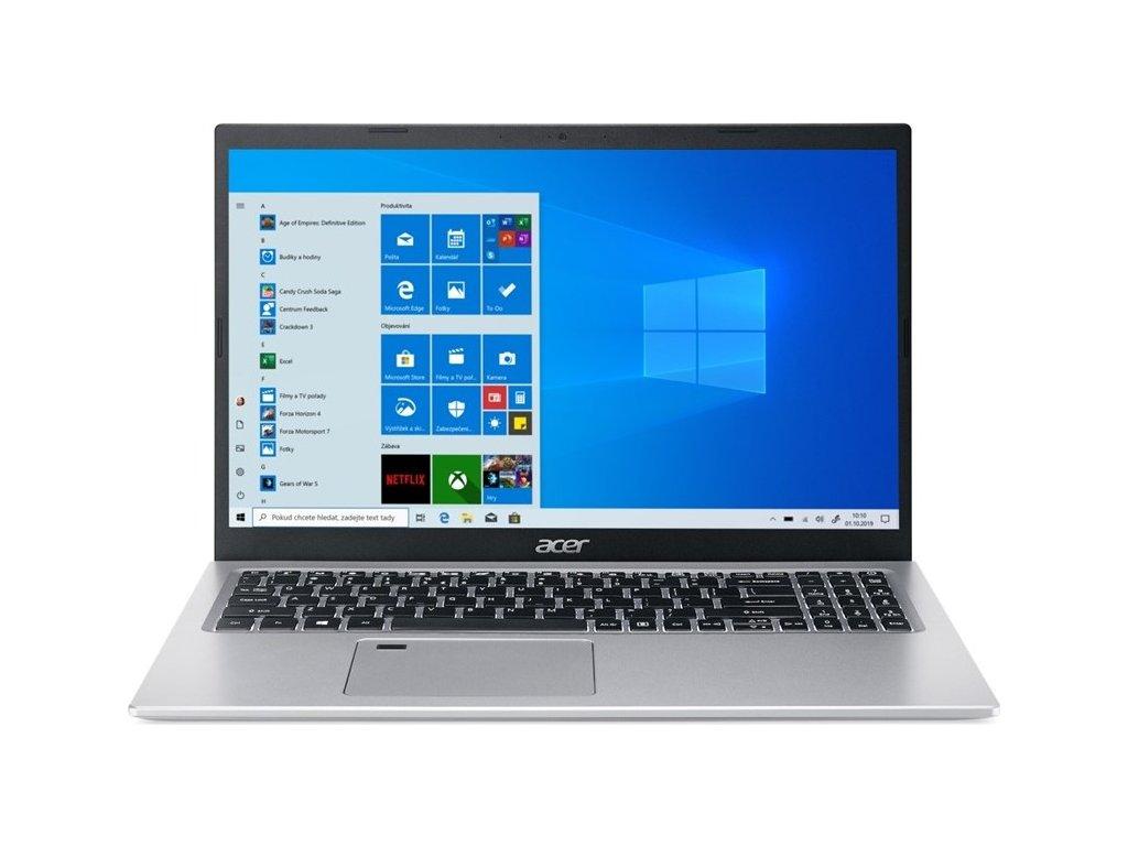 "Ntb Acer Aspire 5 (A515-56G-562J) i5-1135G7, 16GB, 512GB, 15.6"", Full HD, bez mechaniky, nVidia GeForce MX350, 2GB, BT, FPR, CAM, W10 Home  - stříbrný"