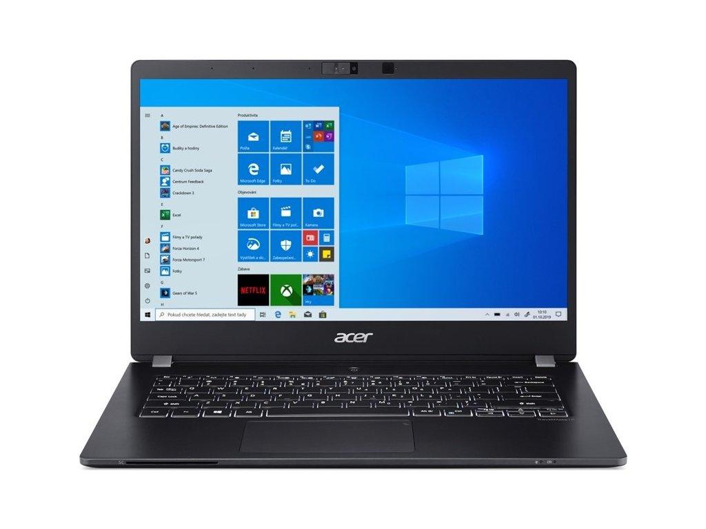 "Ntb Acer TravelMate P6 (TMP614-51-G2-535C) i5-10210U, 8GB, 512GB, 14"", Full HD, bez mechaniky, Intel UHD 620, BT, CAM, Win10 Pro  - černý"