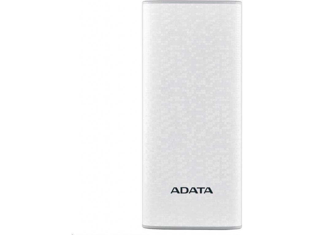 Powerbank ADATA P10000 10000mAh - bílá