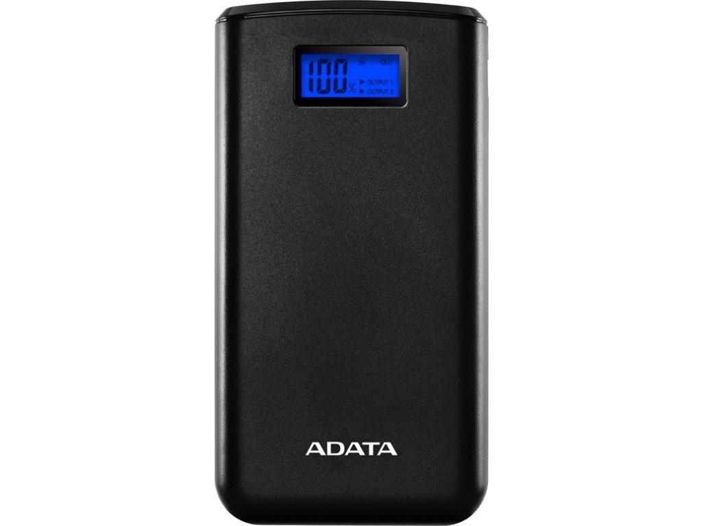 Powerbank ADATA S20000D 20 000mAh - černá