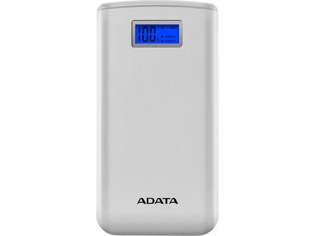 Powerbank ADATA S20000D 20 000mAh - bílá