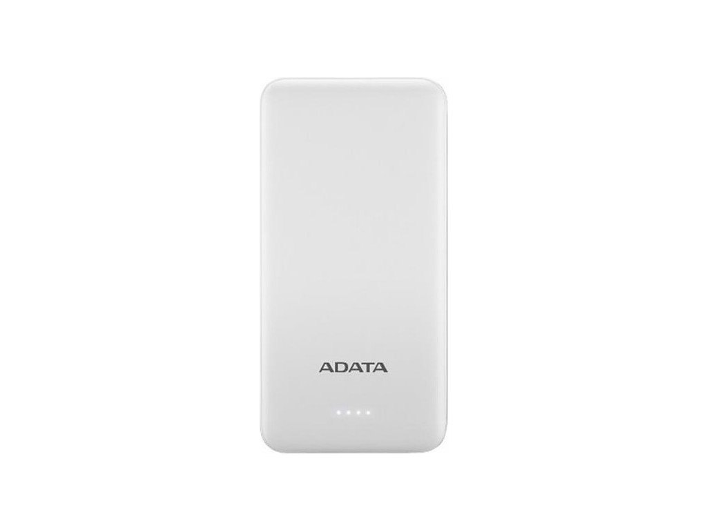 Powerbank ADATA AT10000, 10000mAh - bílá