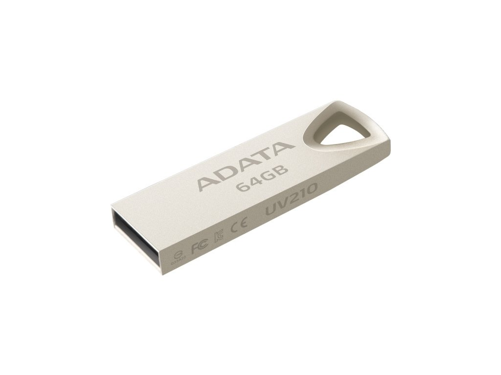Flash USB ADATA UV210 64GB USB 2.0 - kovová