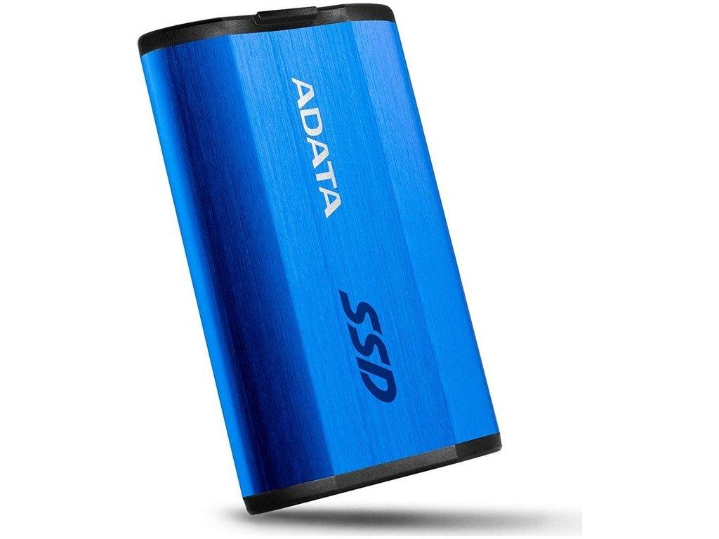 SSD externí ADATA SE800 512GB - modrý