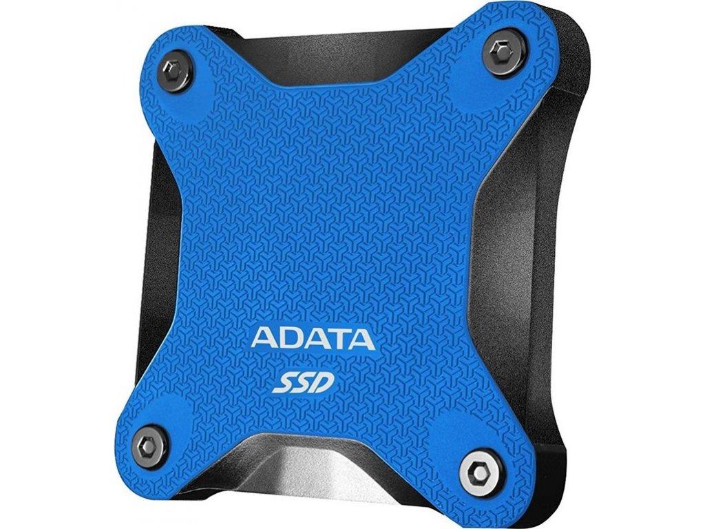 SSD externí ADATA SD600Q 480GB - modrý