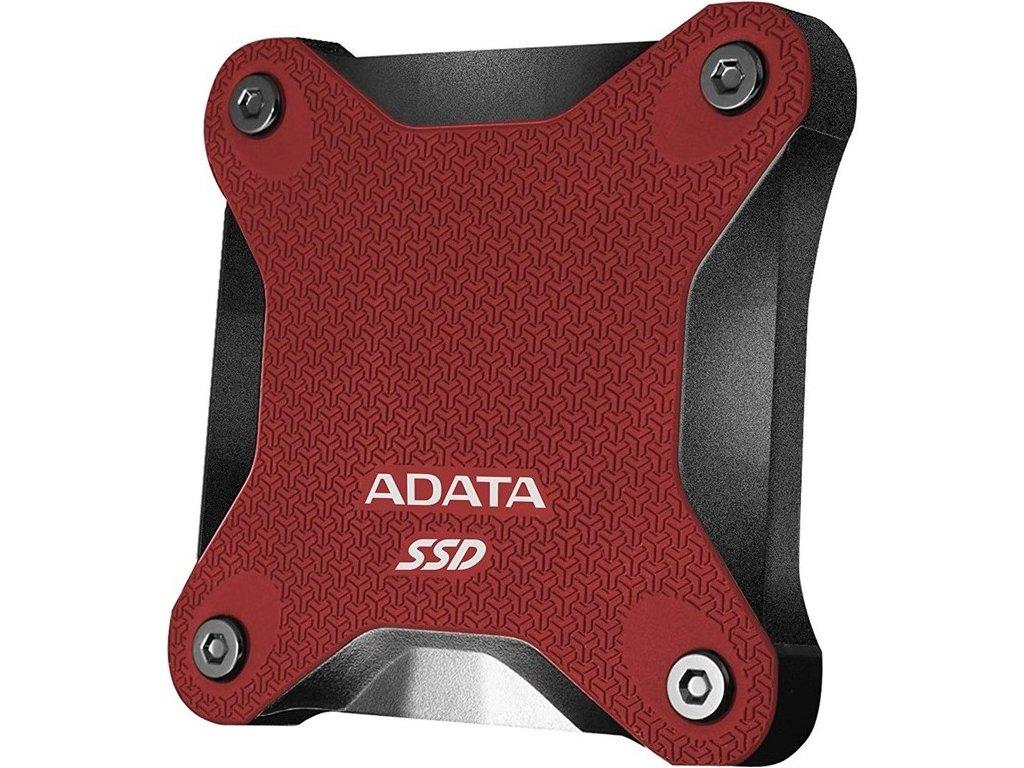 SSD externí ADATA SD600Q 480GB - červený