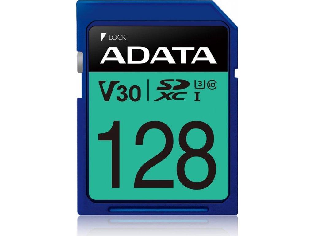 Paměťová karta ADATA Premier Pro SDXC 128GB UHS-I U3 (95R/60W)