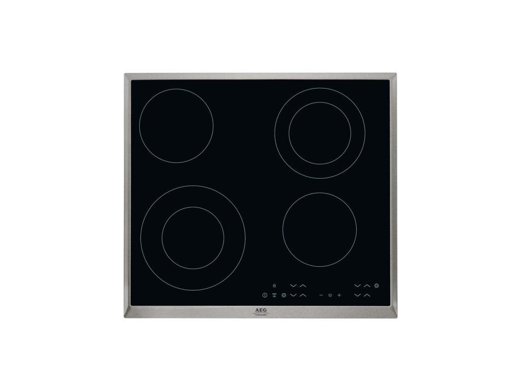 Varná deska sklo. AEG Mastery HK634021XB