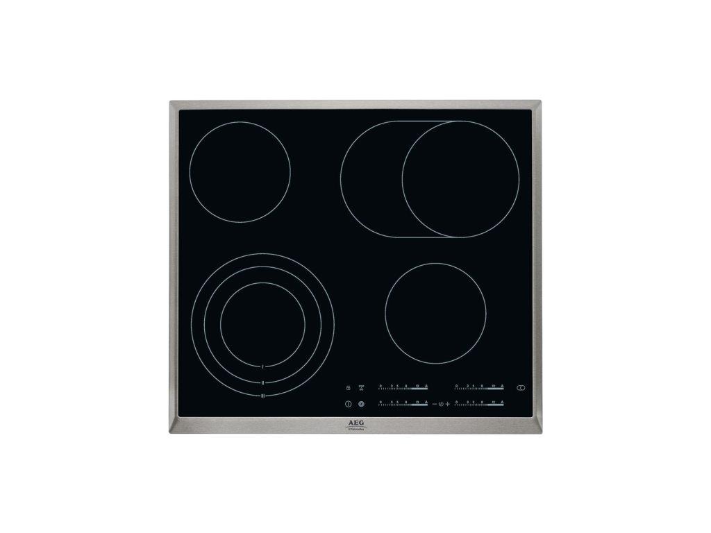 Varná deska sklo. AEG Mastery HK654070XB
