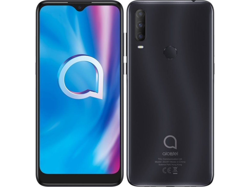 Mobilní telefon ALCATEL 1S 2020 - černý