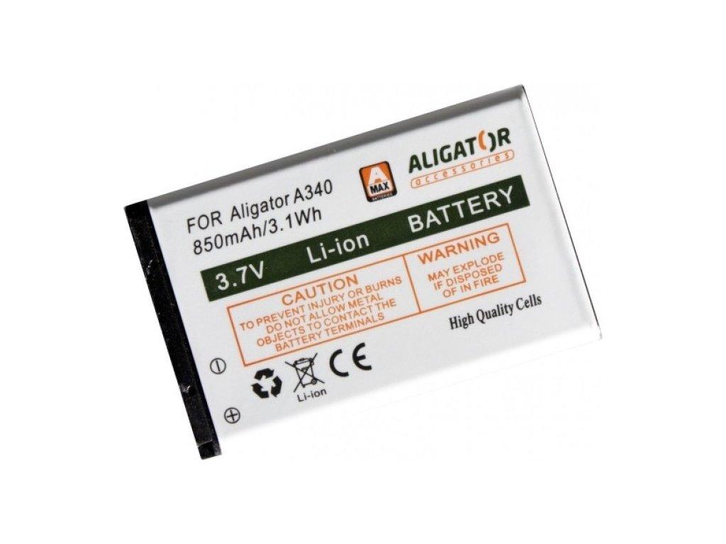 Baterie Aligator A220/A310//A311/A320/A340/A510/A700/V600, Li-Ion 850 mAh