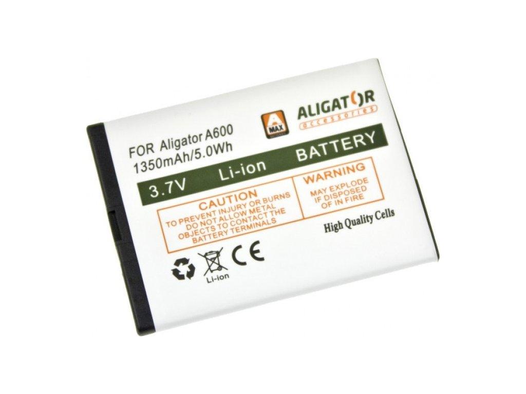 Baterie Aligator A430, A600, A610, A620, A670, A680, Li-Ion 1350 mAh