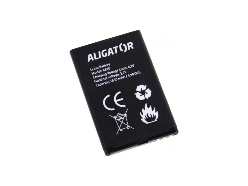 Baterie Aligator A800/A850/A870/D920, Li-Ion 1450 mAh