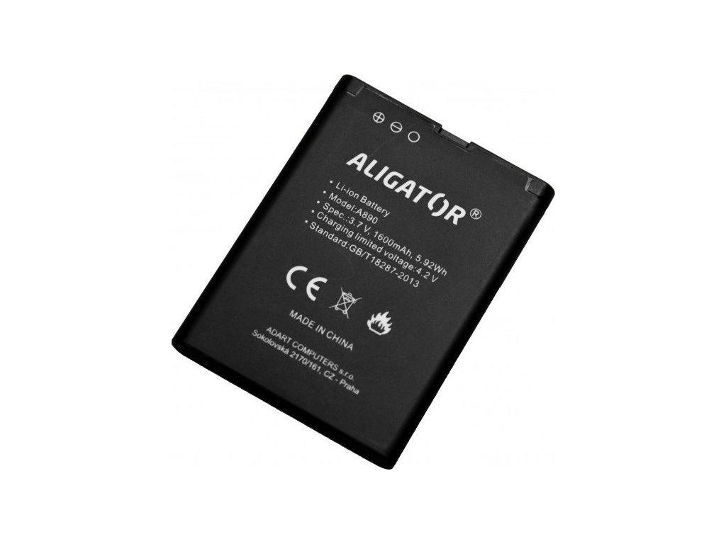 Baterie Aligator A890/A900, Li-Ion 1600 mAh