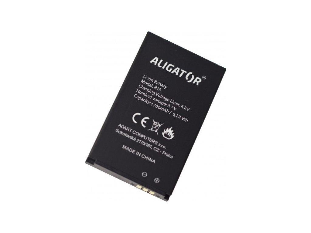 Baterie Aligator R15 eXtremo, Li-Ion 1700 mAh
