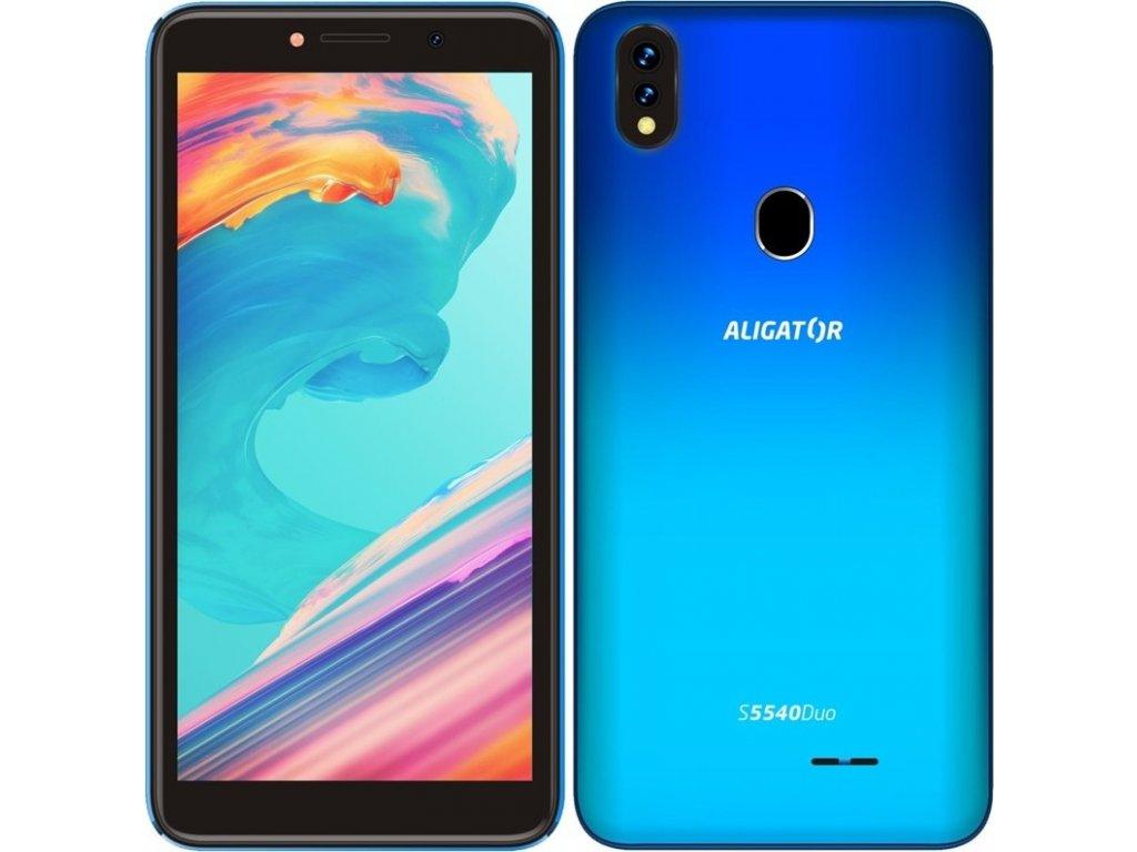 Mobilní telefon Aligator S5540 Dual SIM - modrý