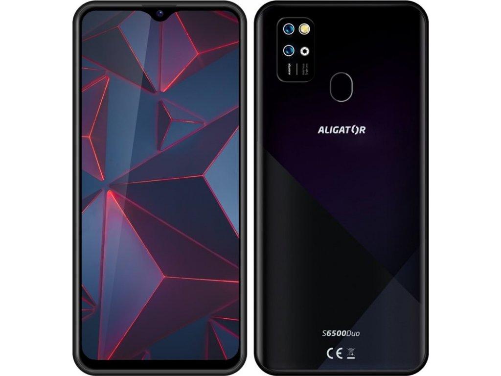 Mobilní telefon Aligator S6500 - černý