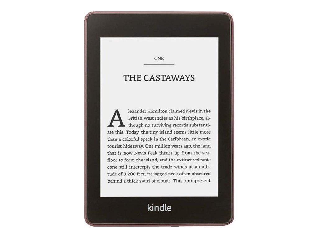 Čtečka e-knih Amazon Kindle Paperwhite 4 2018 s reklamou - fialová