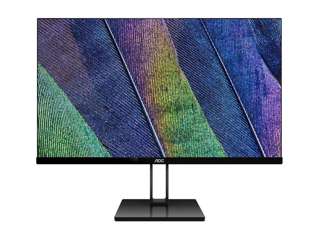 """Monitor AOC 27V2Q 27"""",LED, IPS, 5ms, 1000:1, 250cd/m2, 1920 x 1080,DP,"""