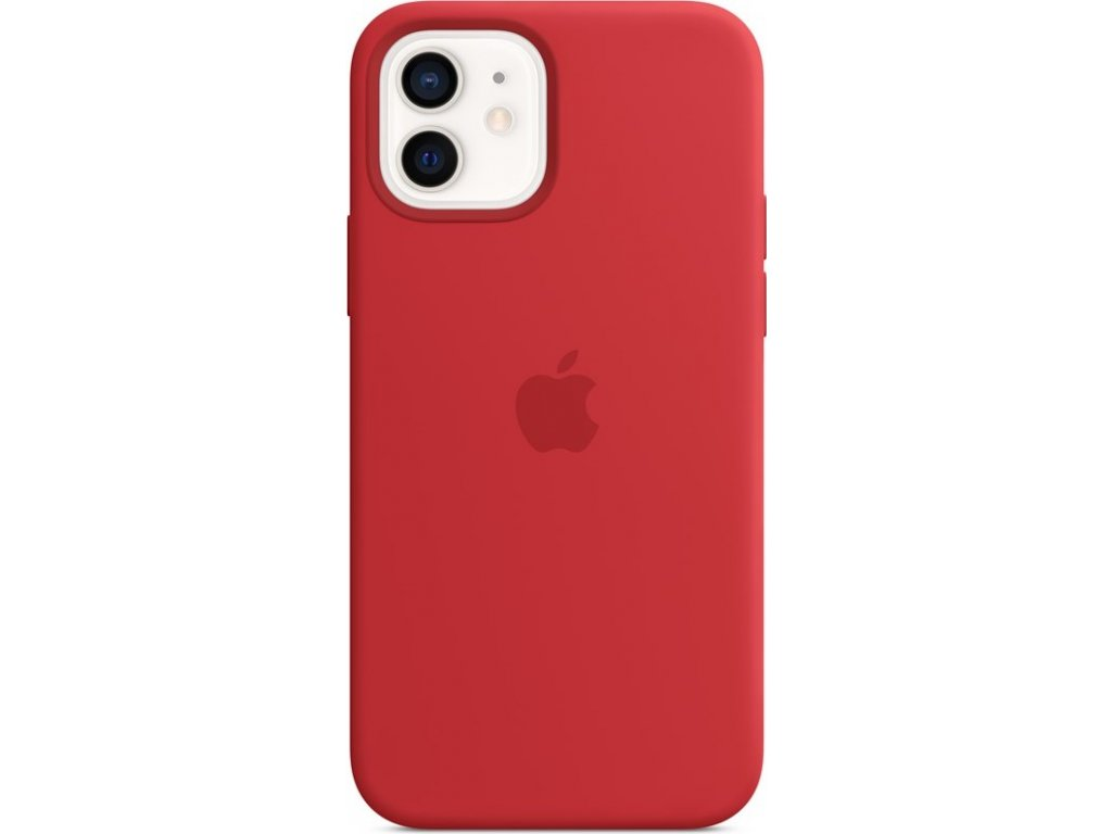 Kryt na mobil Apple Silicone Case s MagSafe pro iPhone 12 a 12 Pro - (PRODUCT)RED