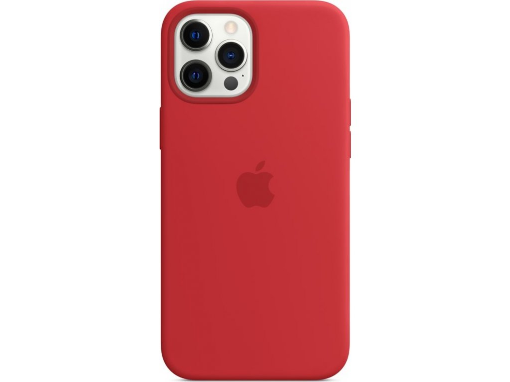 Kryt na mobil Apple Silicone Case s MagSafe pro iPhone 12 Pro Max - (PRODUCT)RED