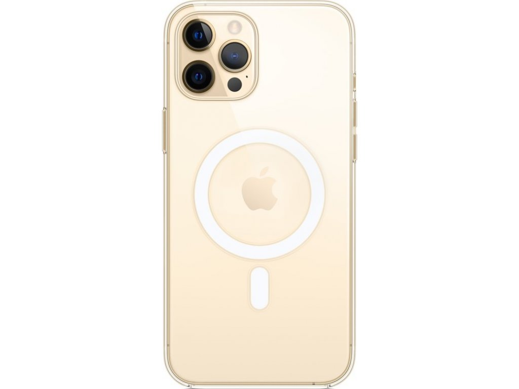 Kryt na mobil Apple Clear Case s MagSafe pro iPhone 12 Pro Max